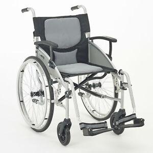 I-GO Airrex LT Self Propelled Lightweight Folding Transportable Wheelchair