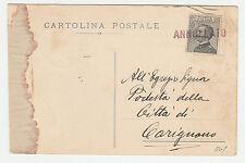 STORIA POSTALE 1930 REGNO MICHETTI C. 30 CON BOLLO ANNULLATO TORINO 25/3 Z/1013