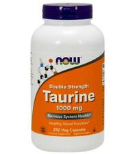 Taurine 1000 mg 250 caps by NOW Foods