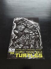 IDW Teenage Mutant Ninja Turtles #50 RI Variant 1:10