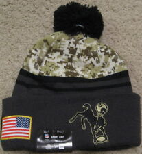 Indianapolis Colts New Era USA Army American Flag Beanie Hat Cap Jersey NWT men