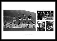 George Best Memorabilia - 1960s Manchester United Print Montage  (GBMU1)