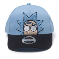 Official RICK AND MORTY Rick Chenille  Snapback Baseball Cap Hat Unisex Gift