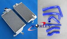 2000 2001 HONDA CR250 CR250R 00 01 Aluminum radiator&silicone hose CR 250 R