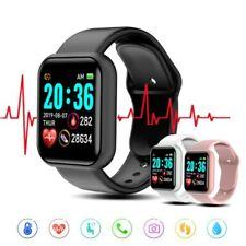 Nuevo Reloj inteligente Y68 Fitness Tracker la presión arterial monitor de ritmo cardíaco Impermeable