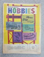 VINTAGE 1959 - 1960 LA TIMES TOY CATALOG CARS SPACESHIPS PLANES TRAINS BOATS