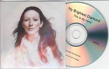 MY BRIGHTEST DIAMOND This Is My Hand 2014 UK 10-trk promo test CD