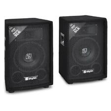 "300W 6"" DJ DISCO KARAOKE STAGE PA SPEAKER PAIR CLUB HI-FI MONITOR SOUND SYSTEM"