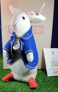 PETER RABBIT REPLICA 1904/05 BY STEIFF  LIMITED EDITION
