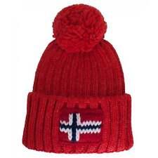 Napapijri Semiury Beanie Hat Orange Red 6b5b8333f437