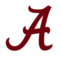 Alabama Crimson Tide Roll Tide Vinyl Decal , Car/Window Sticker , Free Shipping