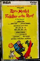 Fiddler On The Roof Cassette Tape 1964 RCA Original Broadway Cast Recording Zero