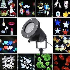 Laser LED Projecteur 12 Modèles Etanche Lumières Lampe Décoration Noël