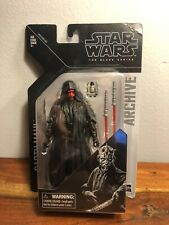 Star Wars The Black Series Darth Maul 6 Inch Archive Action Figure Authentic