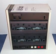 Sony CCP-1300 Audio Cassette Duplicator working