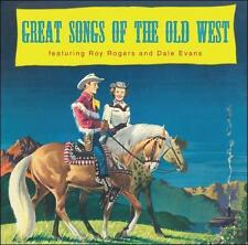 Rogers, Roy & Evans, Great Songs of the Old West, Excellent CD
