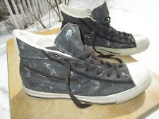 CONVERSE X John Varvatos ALL STAR Hi Top Canvas Shoe / Pre-owned / M 9.5, W 11.5