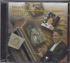 "JOEY TOMSICK ""The Best Of J.T.O.Volume 1""  NEW SEALED SLOVENIAN STYLE POLKA CD"
