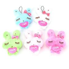 1x Cartoon Rabbit with Heart Decor Baby Kids Plush Toys Cute Bunny Stuffed Toy *