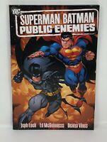 DC SUPERMAN BATMAN PUBLIC ENEMIES Jeph Loeb Graphic Novel  TPB