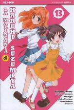 fumetto J-POP MANGA - LA MALINCONIA DI HARUHI SUZUMIYA VOLUME 13