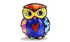ROMERO BRITTO MINIATURE FIGURINE: OWL  ** NEW **