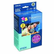 Epson T5845 M PictureMate Print Includes Inkjet Cartridge Sheets Photo Paper