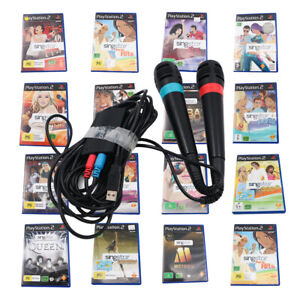 PS2 Singstar Games | Playstation 2 | *Pick GAMES* | Microphones | FREE TRACKING