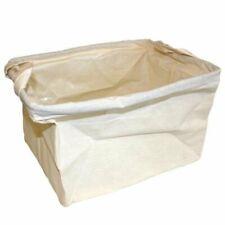 Cotton Display / Storage Basket - Natural Unbleached Cotton