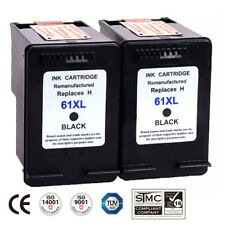 2PK HP61XL 61XL Black Ink Cartridges for HP Deskjet 1000 1050 1051 2050 Series