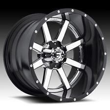 Single 22x10 Fuel D260 Maverick ET -13 Chrome 8x170 Wheel Rim