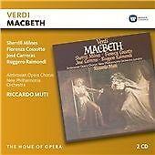 Riccardo Muti - Verdi: Macbeth 2 CD Set New