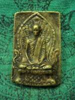 Phra LP Derm Figure Wat Nhongpho be.2482 Talisman Magic Old Thai Buddha Amulet