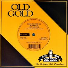 """7"""" DISCO TEX AND HIS SEXOLETTES Get Dancing/ I Wanna Dance Witchoo OLD GOLD 1974"""