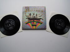 THE BEATLES ' MAGICAL MYSTERY TOUR ' EP 1st SMMT - 1 STEREO  BLUE LYRIC EX + !