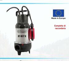 SUBMERSIBLE PUMP BLACK WATER GRINDER 900w ELPUMPS BT4877 toilette fosse bio