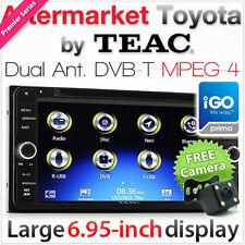 Toyota Camry Prado Hilux Landcruiser CD DVD GPS DVB-T Player Navigation System