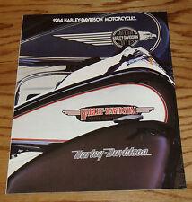 Original 1984 Harley Davidson Motorcycles Full Line Foldout Sales Brochure 84