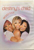 DVD -DESTINY'S CHILD - WORLD TOUR - CONCERT