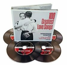 Various Artists - 100 Greatest Love Songs - Various Artists CD 8SVG