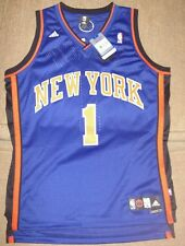 Steve Francis #1 New York Knicks Adidas Swingman Jersey Sewn Blue Mens L NWT!!!!