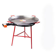Set: 70cm Gas Burner+ 90 cm Polished Paella Pan+ Reinforced Gas Burner Tripod