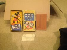 US Time Ingersoll Walt Disney Mickey Mouse Wrist Watch Box Only