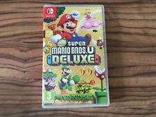 Super Mario Bros U Deluxe Nintendo Switch Case Only