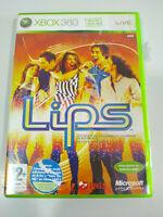 Lips Alejandro Sanz Dido Beyonce - Juego Xbox 360 Edicion España PAL