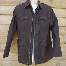 Timberland Brown Heavy Cotton Field Jacket - L - C2010
