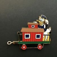 WDW - Gold Card Character Train - Caboose - Donald Duck LE 1500 Disney Pin 60273