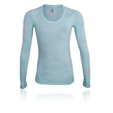 Abbigliamento sportivo da donna blu manica lunghi Taglia XS