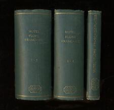 Uncommon 1834-1837 Botanical Books FLORE FRANÇAISE, Destinée aux Herborisation