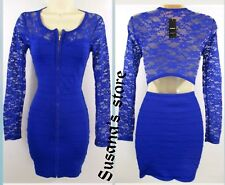 NWT bebe Leila Lace and Bandage Dress SIZE M Super Sexy  Retail $102